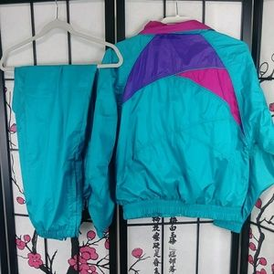 Reebok Jackets & Coats - Vtg Reebok 90s Color Block Windbreaker Track Suit
